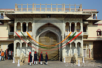 City Palace in Jaipur (India) Editorial Image