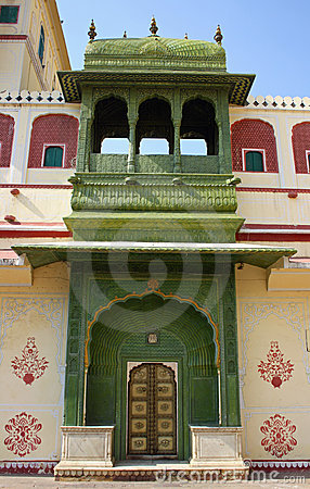 City Palace in Jaipur (India)