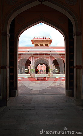 City Palace, Jaipur. Editorial Stock Image