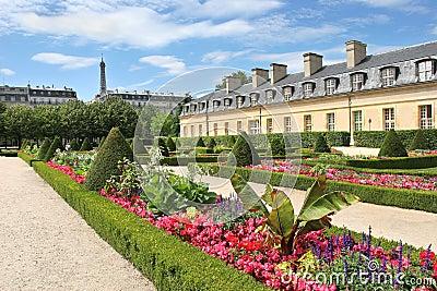 City park. Paris, France.