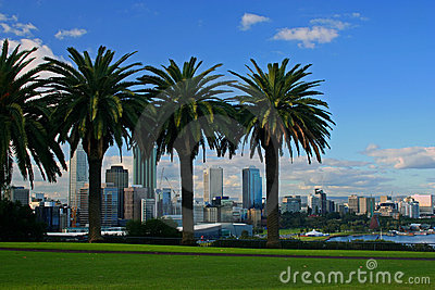 The City of Perth, Western Australia