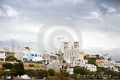 City Plaka Milos Cyclades Greek Island
