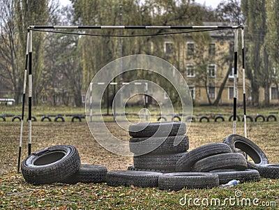 The city of Poltavaautumn childhood
