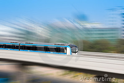 City rails transportation