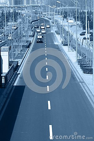 City road traffic