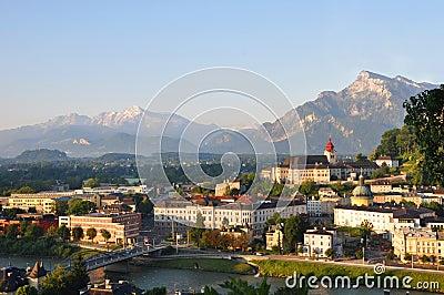 City of Salzburg.