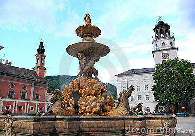 City Of The Salzburg,Austria