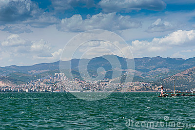 City scape Izmir