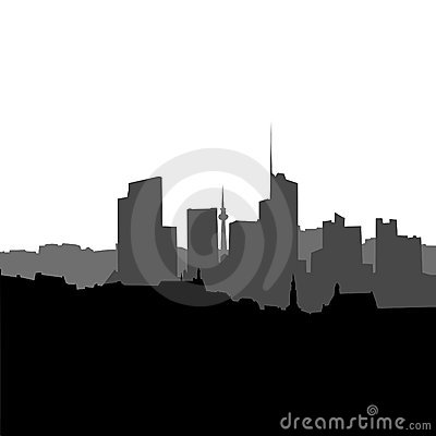 CITY SCAPE VECTOR BACKGROUND