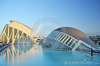 City of science - Valencia Spain Editorial Image