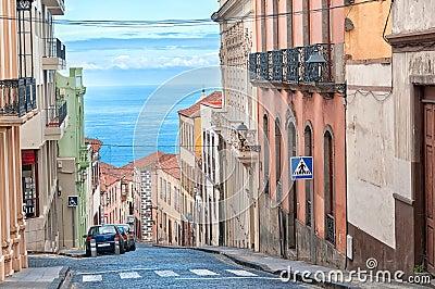 City sea view, La Orotava, Canary islands