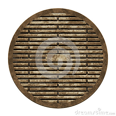 City sewer cover (Manhole serie)