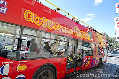 City Sightseeing Firenze Editorial Stock Image