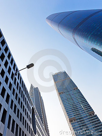 Free City Sky When You Looking Up Stock Photo - 17436660