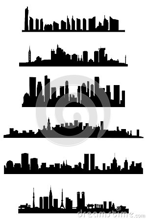 Free City Skyline Royalty Free Stock Photography - 36868437