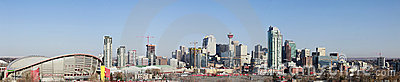City skyline, Calgary, Alberta, Canada