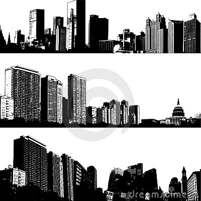 City skyline choice