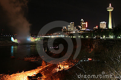 City Skyline at the Falls