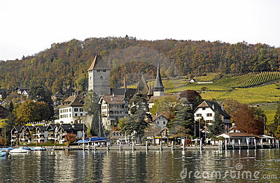The city of Spiez