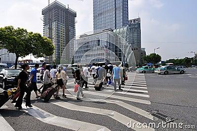 City street Editorial Stock Photo