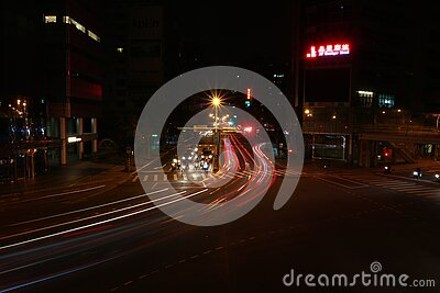 City Streets At Night Free Public Domain Cc0 Image