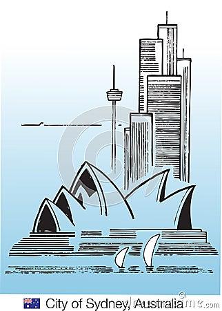 City of sydney Editorial Stock Photo