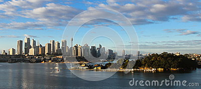 City of Sydney, Australia and Sydney Harbour