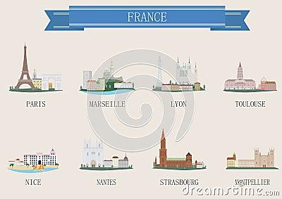 City symbol. France