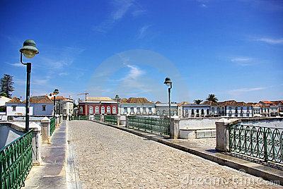 City of Tavira, Portugal.