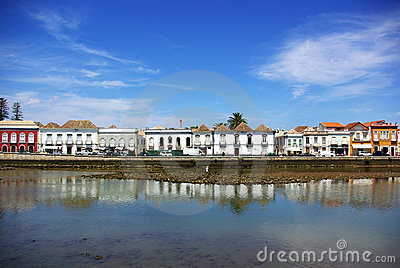 City of Tavira, Portugal.