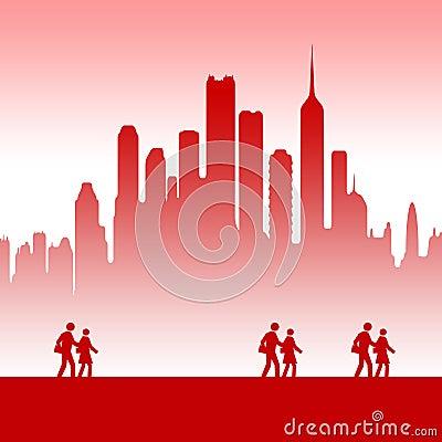 City teamwork