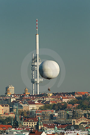 City telecommunication tower