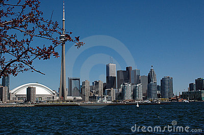 city of toronto amazing skyline