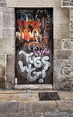 City vandalism