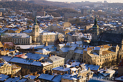 City view - Lviv, Ukraine