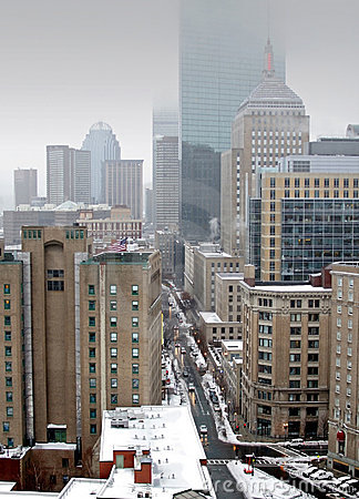 Free City View Of Boston Royalty Free Stock Photography - 2250507