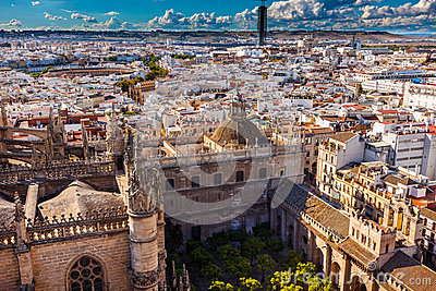 City View Seville Cathedral Garden Spain