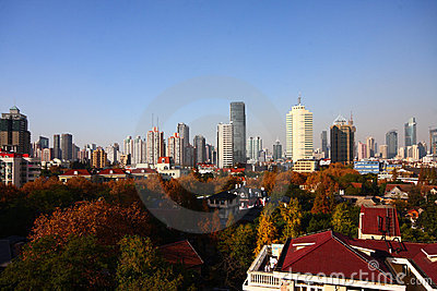 City view of Shanghai