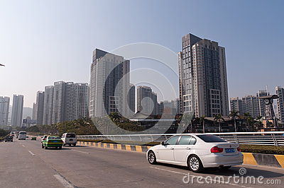 The City view of zhuhai Editorial Photo