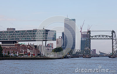 City views Rotterdam Editorial Stock Photo
