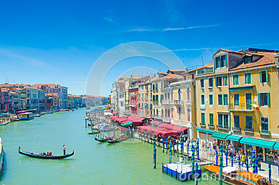 City views of venice Editorial Stock Image