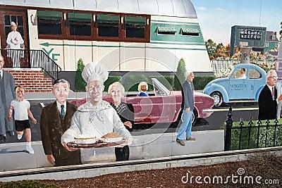 City Wall Art, Nashua, New Hampshire