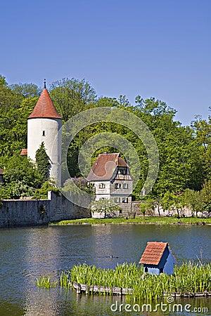 City wall of Dinkelsbühl