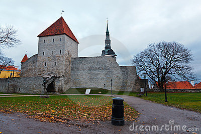 City Wall and Towers of Old Tallinn