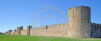 City Walls,Aigues-Mortes,Camargue,France