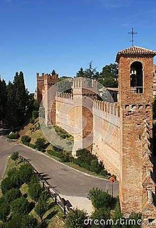 City Walls, Gradara