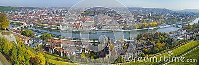City Wuerzburg Editorial Image