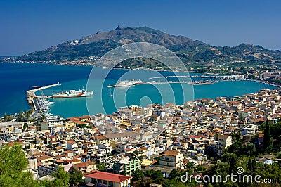 The city Zakynthos
