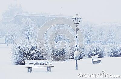Citycenter snowbound
