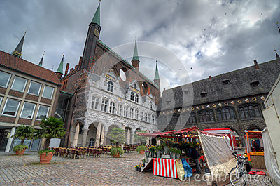 Cityhall of Lubeck